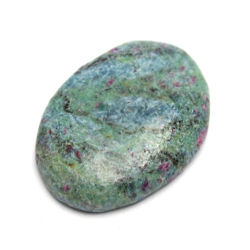Worry Stones - Ruby Fuchsite Worry Stone Slab - Thumb Stone - Palm Stone - Metaphysical - Chakra - (RK46B6b-01)