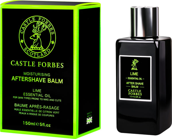 Castle Forbes Aftershave Balm 150ml - Lime Essential Oil