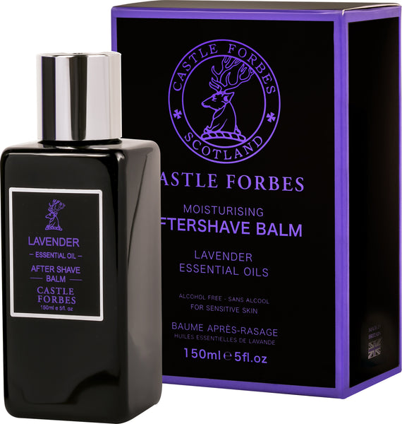 Castle Forbes Aftershave Balm 150ml - Lavender Essential Oil