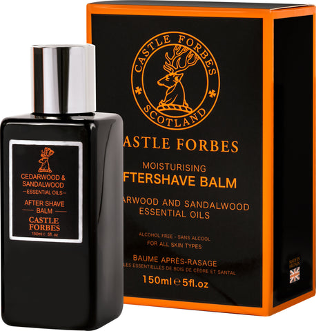 Castle Forbes Aftershave Balm 150ml - Cedarwood & Sandalwood