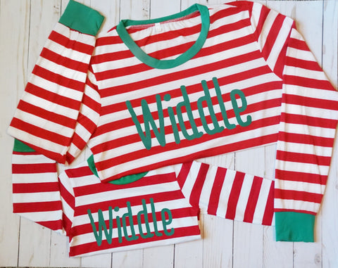 Widdle Mom Christmas Pajamas - WiddleToes