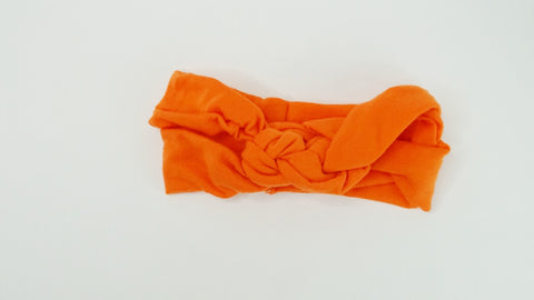 Orange Headbands - WiddleToes