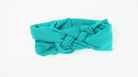 Teal HeadBand - WiddleToes