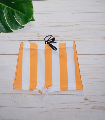 Boy Stripe Swim Trunks - WiddleToes