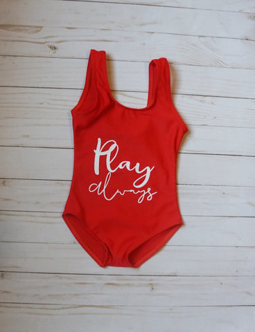 "Baby ""Play Always"" Swimsuit - WiddleToes"