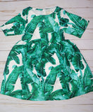 Leafy Baby Dress - WiddleToes