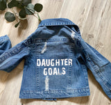 Daughter Goals Distressed Jacket
