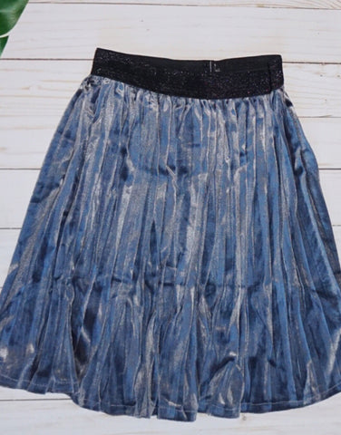 Baby Pleated Skirt-GREY - WiddleToes