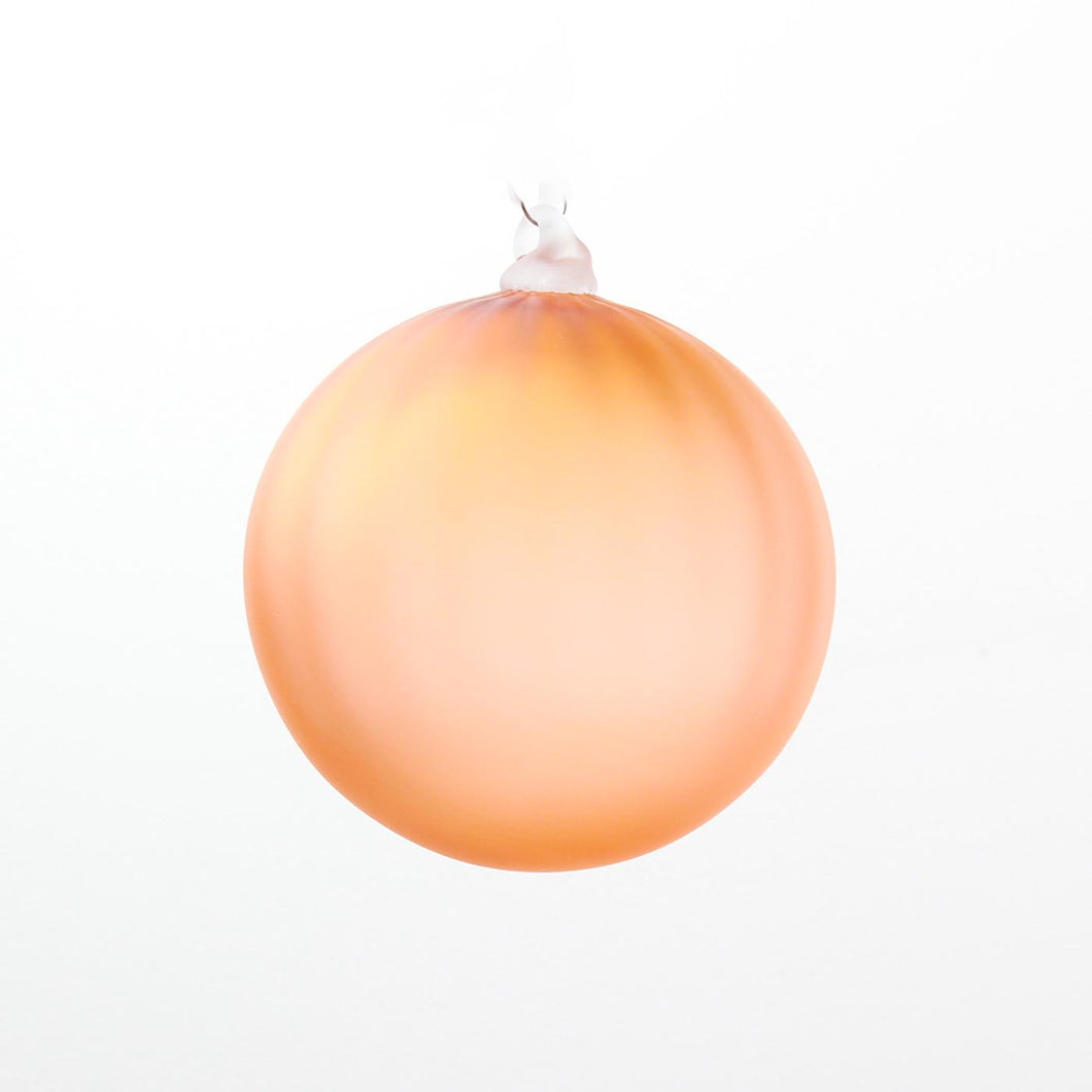 ornament *frosted peach