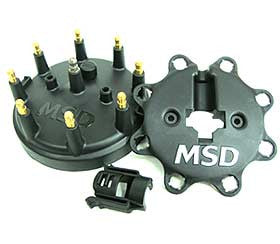 "MSD 4"" Black Cap & wire retainer"