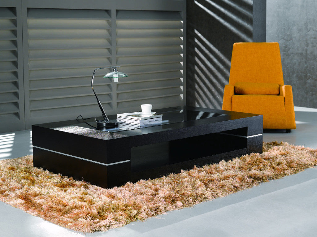 Modern Coffee Table Dark Oak