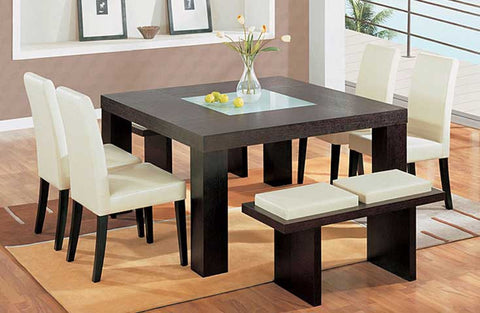 7-Piece Square Dining Set - 360 Decor Furniture Miami FL