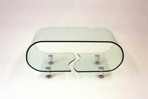 Modern Glass Coffee Table - 360 Decor Furniture Miami FL
