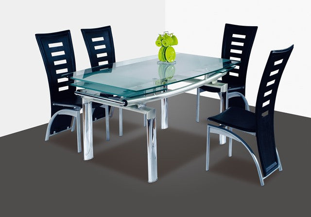 4 Piece Modern Dining Set - 360 Decor Furniture Miami FL