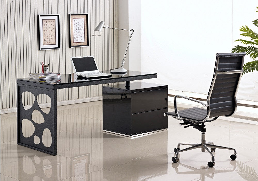 KD01R Modern Office Desk - 360 Decor Furniture Miami FL