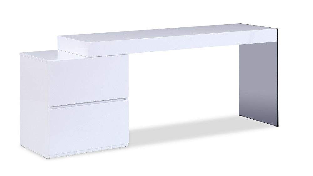 Mia Modern Office Desk - 360 Decor Furniture Miami FL