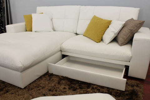 NAVY,  Sectional Sofa. - 360 Decor Furniture Miami FL