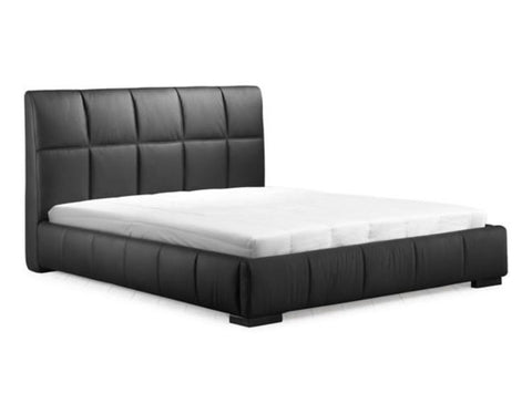 Black - Amelie Bed Black (Queen)