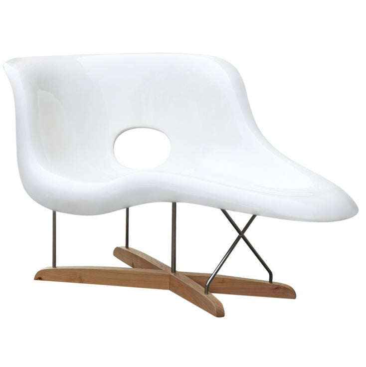 AMOEBA Chaise Accent Chair - 360 Decor Furniture Miami FL