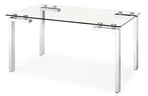 ROCA Dining Table Stainless Steel - 360 Decor Furniture Miami FL