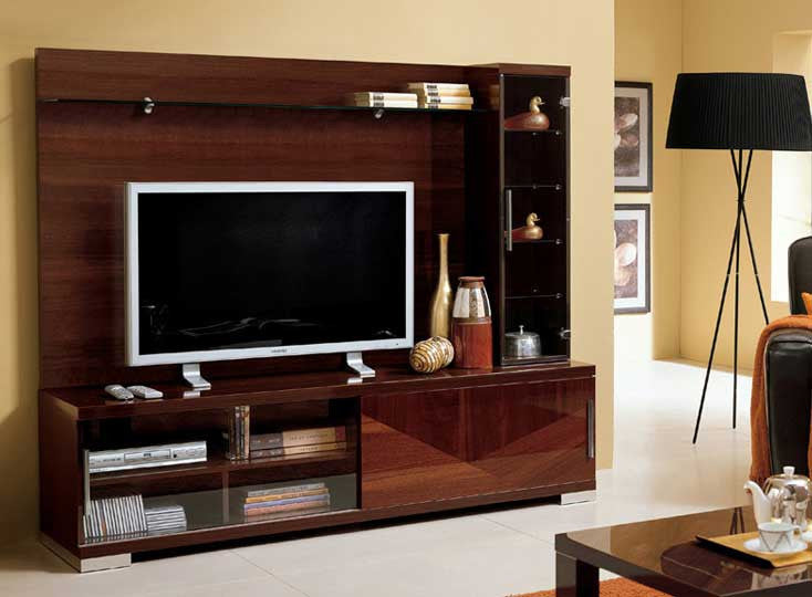 Italian TV Center Wall Unit