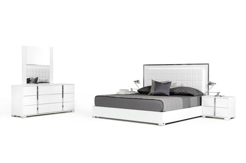 Modrest San Marino Modern White, Bedroom Set - 360 Decor Furniture Miami FL