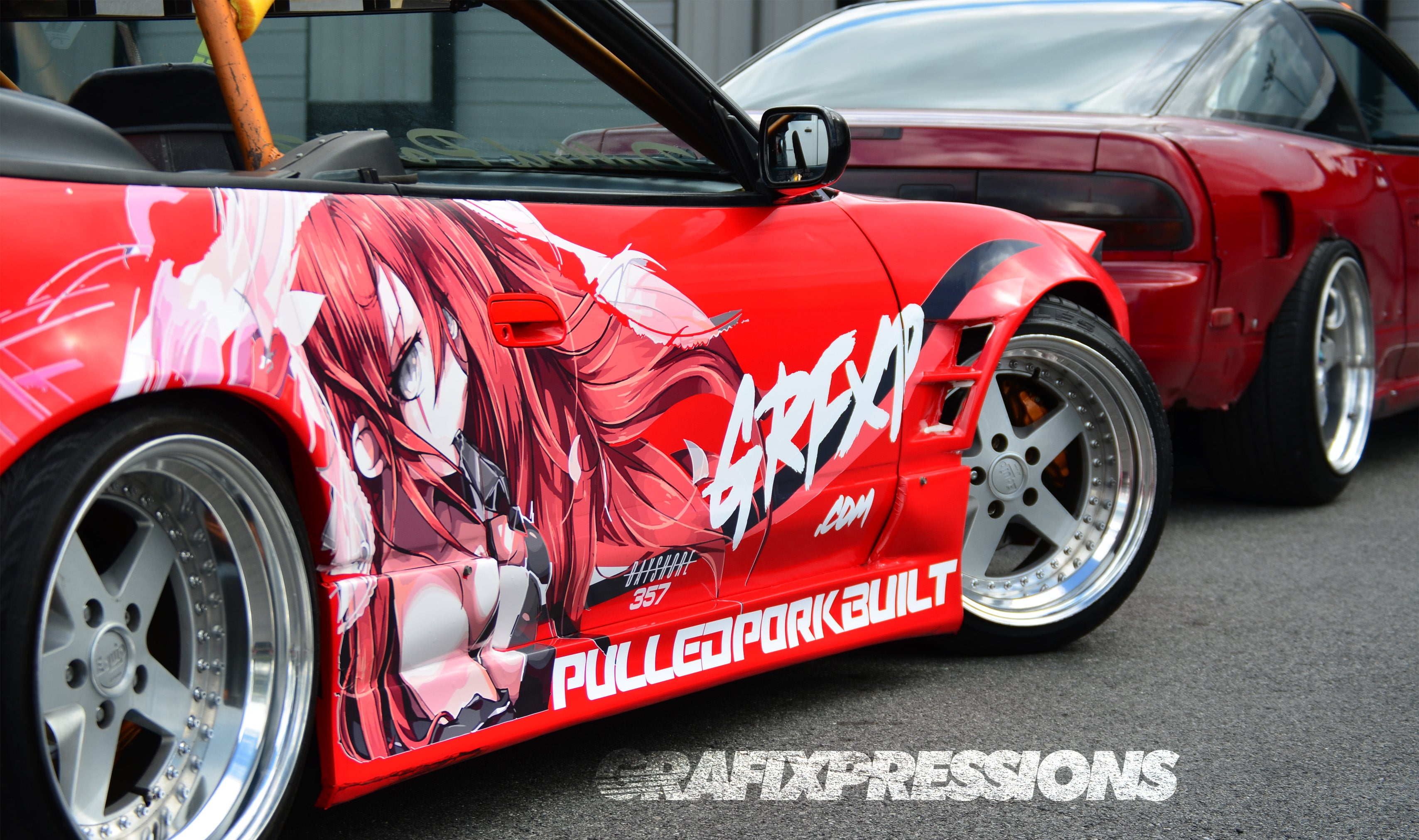 Nissan 240sx silvia drift car custom anime inspired livery grafixpressions grfxp