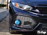 Fog Light Overlays for 10thGen Honda Civic Hatchback (2017+)