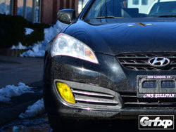 Fog Light Overlays for Hyundai Genesis Coupe (2010 - 2012)