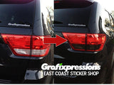 Taillight Overlays for Jeep Grand Cherokee (2011 - 2013)