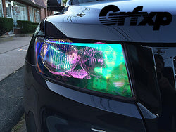 Headlight Overlays for Jeep Grand Cherokee (2011-2013 only)