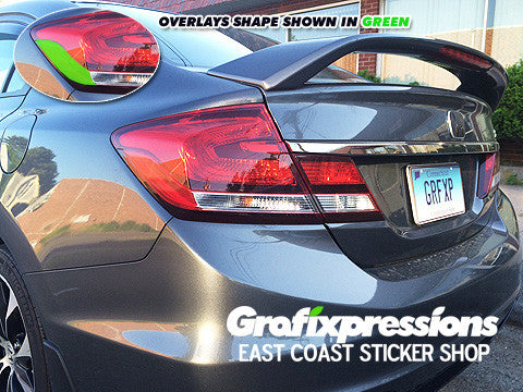 Taillight Corner Overlays for 9thGen Civic Sedan (2013 - 2015)