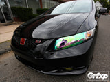 Headlight Overlays for Honda Civic Coupe (2012-2013)