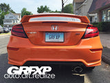 Taillight Overlays for 9thGen Honda Civic Coupe (2014 – 2015)