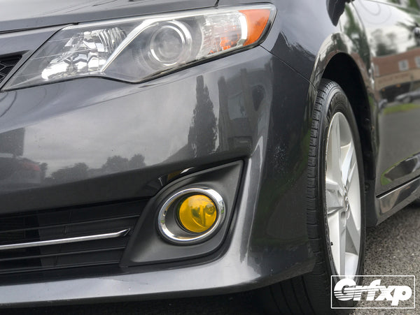 Fog Light Overlays for 2014 Toyota Camry
