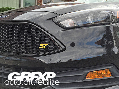 Fog Light Overlays for Ford Focus ST (2015 models)