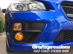 Fog Light Overlays for Subaru WRX/STi (2015 – 2017)