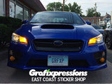 High Beam Area Overlays for Subaru WRX/STi (2015 – 2017)