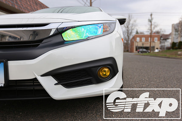 Fog Light Overlays for 10thGen Honda Civic Sedan (2016 – 2017)