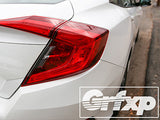 Taillight Overlays for 10thGen Honda Civic Sedan (2016 – 2017)