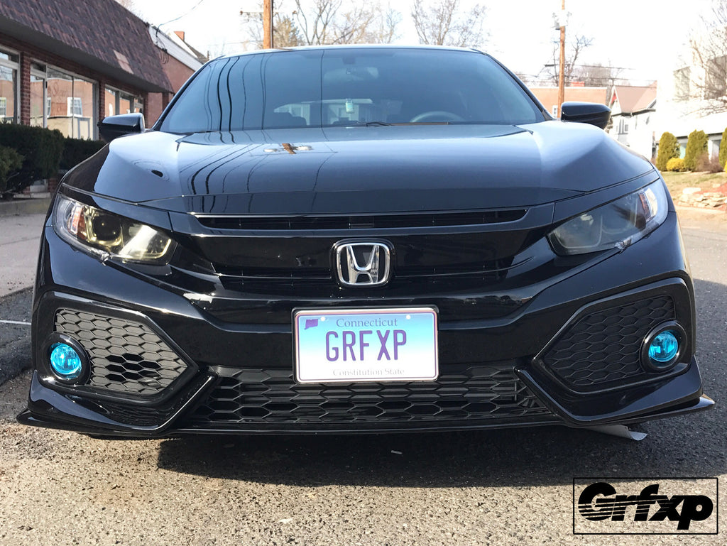 Headlight Overlays For 10thgen Honda Civic Hatchback 2017