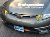 DRL Overlays for 8thGen Honda Civic Coupe (2006 – 2011)