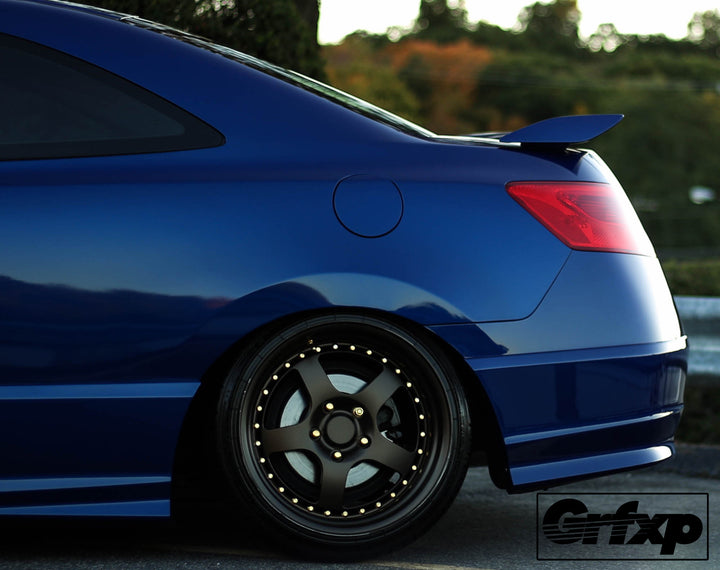 tail light overlays for 2006 2011 8thgen honda civic coupe grafixpressions. Black Bedroom Furniture Sets. Home Design Ideas