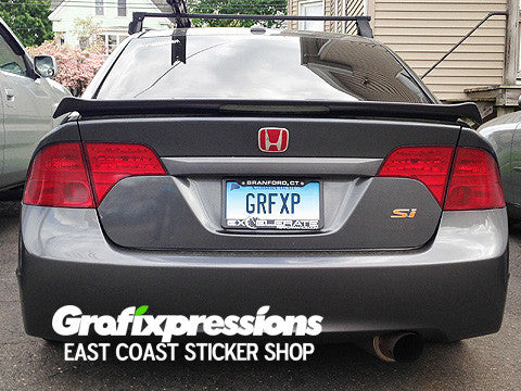 Spoiler Brake Light Overlay for 8thGen Civic Sedan/Coupe (2006-2011)