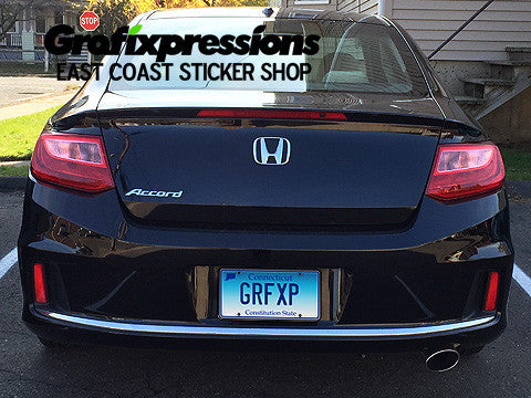 Taillight Overlays For ThGen Honda Accord Coupe - Stickers for honda accord