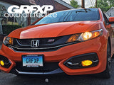 DRL Overlays for 9thGen Honda Civic Coupe (2014 – 2015)