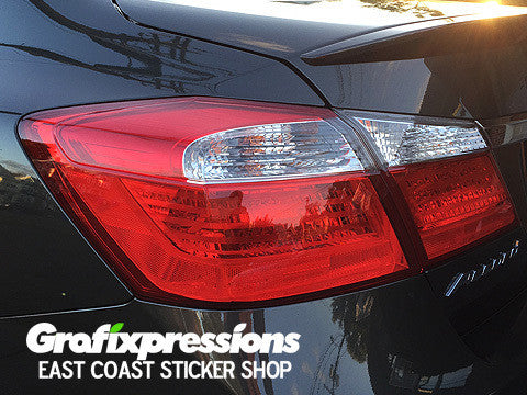 Taillight Accent Overlays for 9thGen Honda Accord Sedan (2013 - 2015)