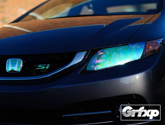 Headlight Overlays for 9thGen Honda Civic Sedan (2014-2015)