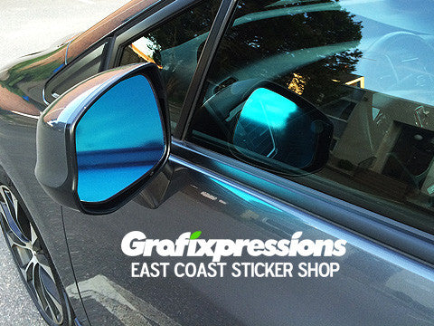 Side View Mirror Overlays for 9thGen Honda Civic Sedan (2012 - 2013)