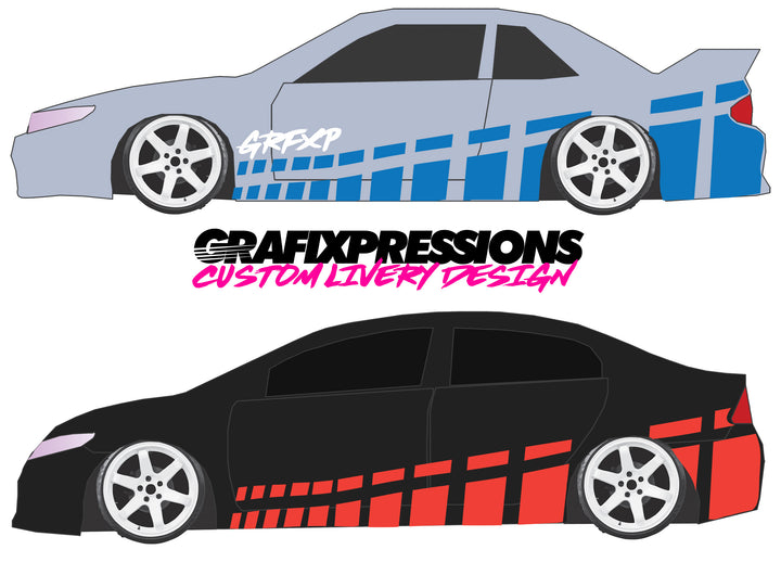 GTR Hash - Custom Vehicle Livery Graphics